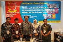 Kegiatan Bimtek Keuangan Daerah di Makassar