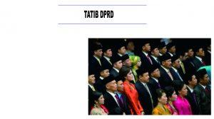 Bimtek Pedoman Penyusunan Tatib DPRD