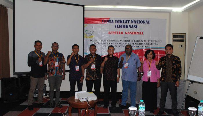 Kegiatan Bimtek Satpol PP Papua