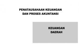 Bimtek Penatausahaan Keuangan Dan Akuntansi