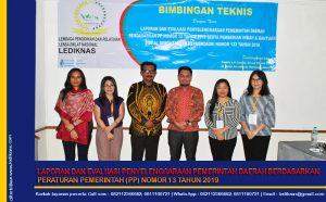 Bimtek Laporan dan Evaluasi Penyelenggaraan Pemerintah Daerah