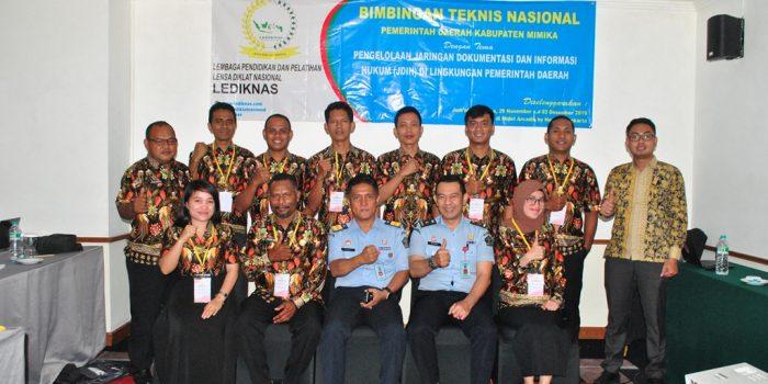 Bimtek Pengelolaan JDIH Kabupaten Mimika