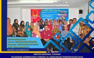 Bimtek Pelayanan Administrasi Terpadu di Lingkungan Pemerintahan Desa