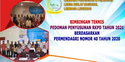 Bimtek Pedoman Penyusunan RKPD Tahun 2021