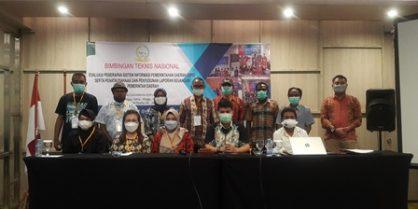 Bimtek Provinsi Papua dan Sulawesi Tenggara